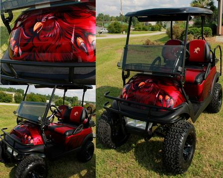 Steve Phipps - Gamecock Golf Cart