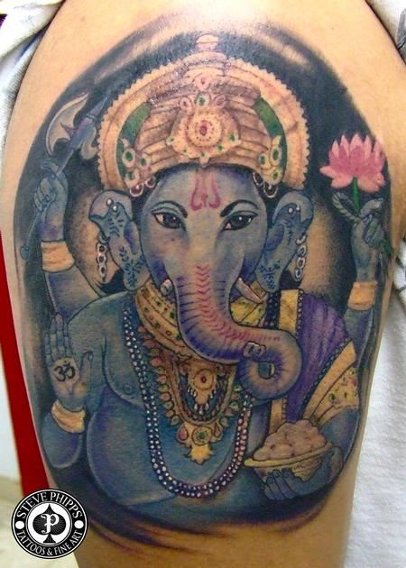 Tattoos - Ganesha - 77381