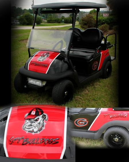 Steve Phipps - Georgia Bulldogs Cart