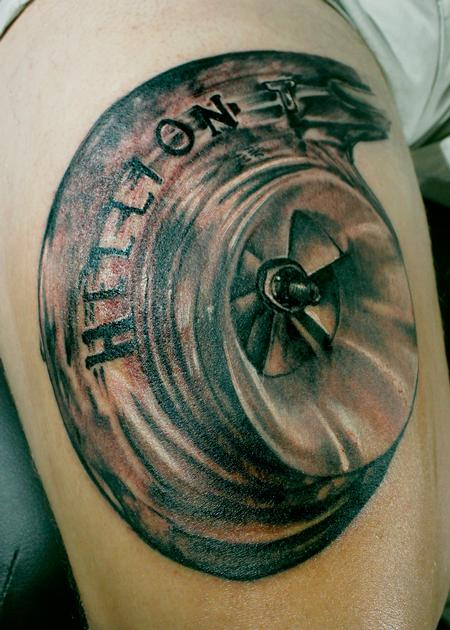 Tattoos - Hellion Supercharger - 139857