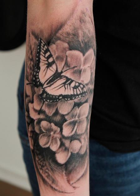Tattoos - Hydrangea  - 141494