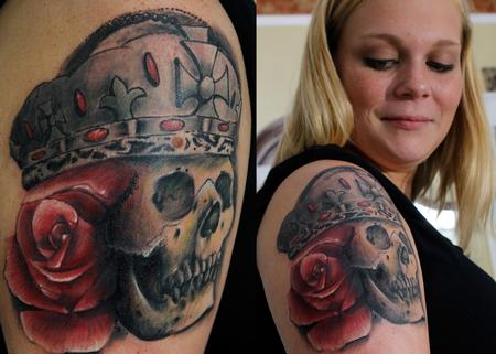 Tattoos - Irish Skull - 128857
