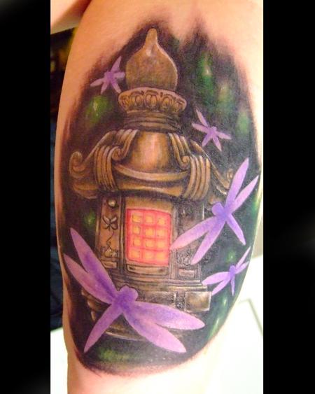 Tattoos - Garden Lantern - 77226