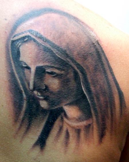 Tattoos - Mary - 77369