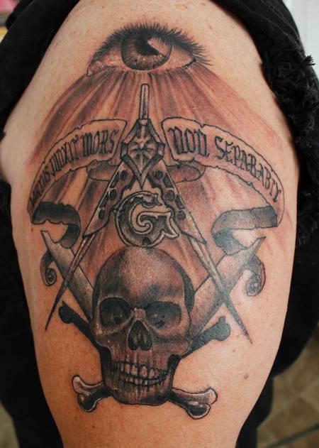 Tattoos - Virtus Junxit Mors Non Separabit - 123185