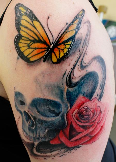 Tattoos - Skully Thing - 132831