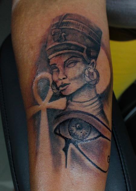 Tattoos - Nefertiti - 132656