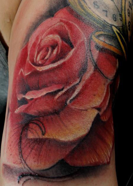 Tattoos - Una rosa para el dia - 138372
