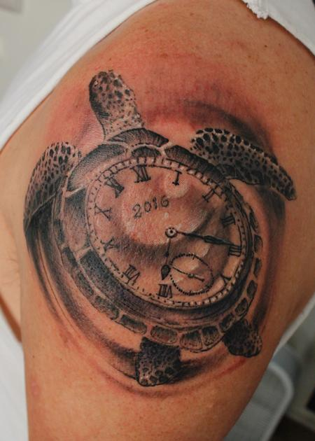 Tattoos - Sea Turtle Watch - 125456