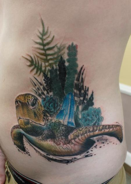 Tattoos - Sea Turtle - 137279