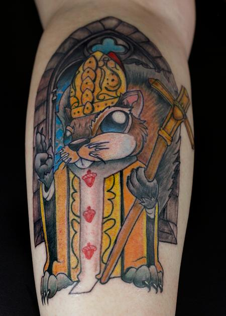 Tattoos - Squirrel Pope - 138525
