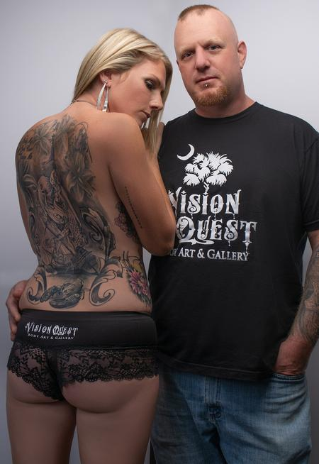 Tattoos - Candice & Phipps - 137723
