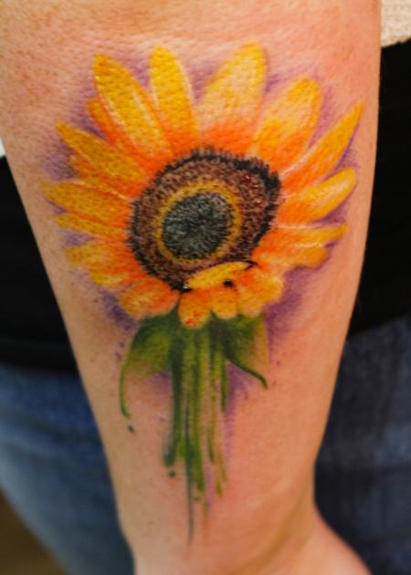 Tattoos - Sunflower - 125364