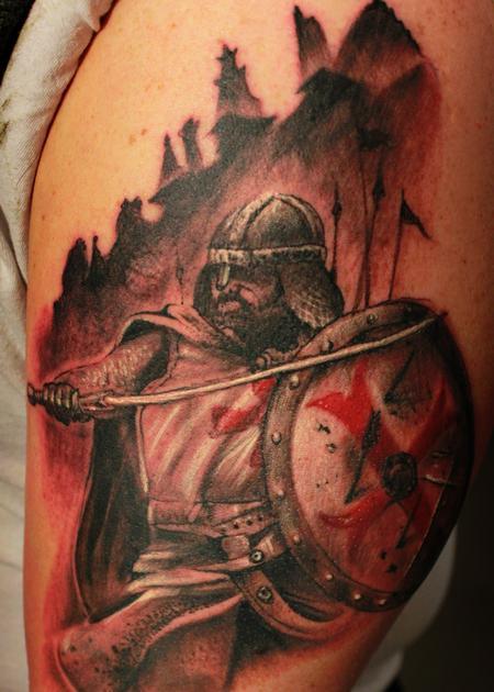 Tattoos - Templar Knight - 116043