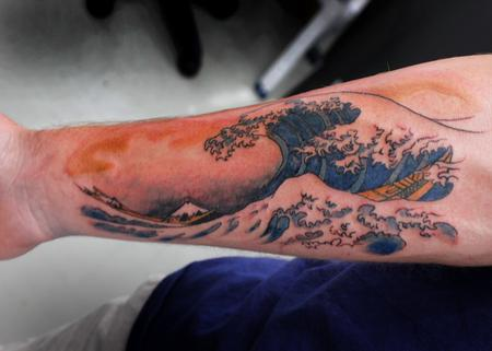 Tattoos - The Great Wave - 128564