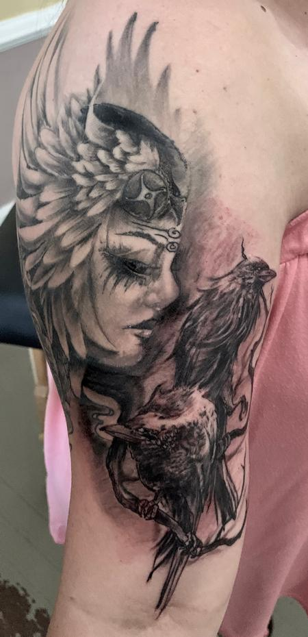 Tattoos - Huginn and Muninn - 138632