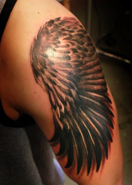 Tattoos - Eagle Wing  - 122249