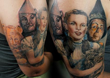 Tattoos - Dorothy and Her Companions - 140083