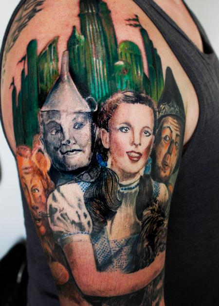 Tattoos - Wizard Of Oz - 140641