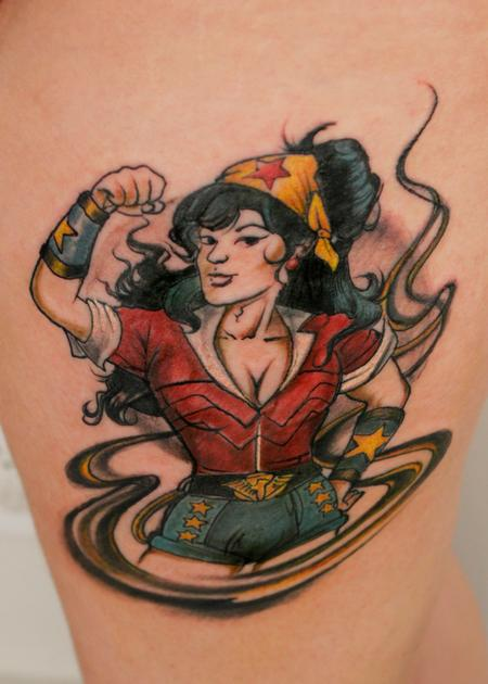Tattoos - Wonder Woman - 138942
