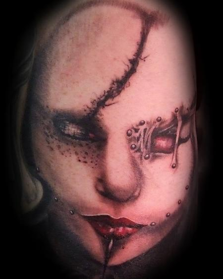 Tattoos - Face of death - 77363