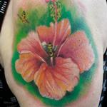 Tattoos - Hibiscus - 133193