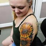 Tattoos - Kirstie's Sunflowers - 134331