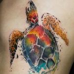 Tattoos - Spatter Turtle - 132463