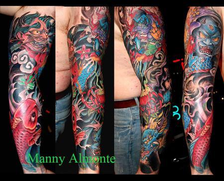 Tattoos - Japanese sleeve - 79574