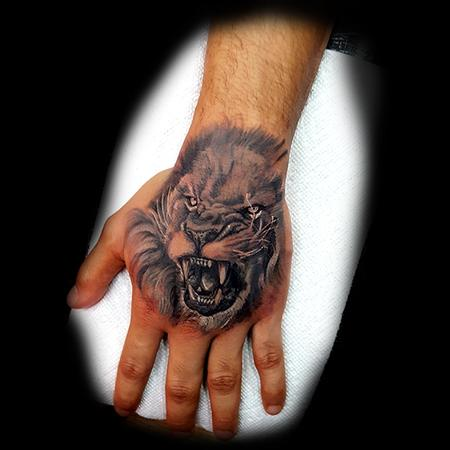 Tattoos - Lion - 133424