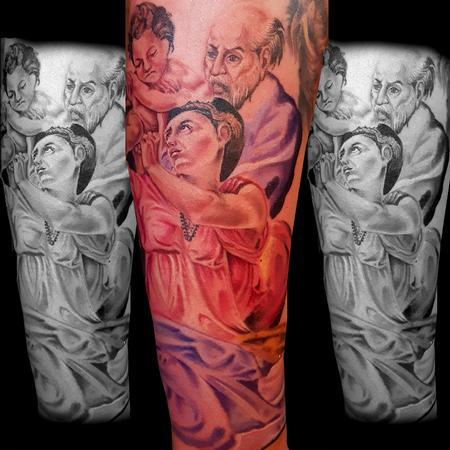 Tattoos - Religious Portraits - 138925