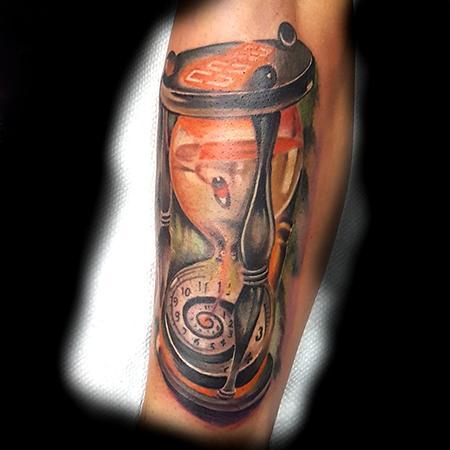 Tattoos - Hour Glass - 133597