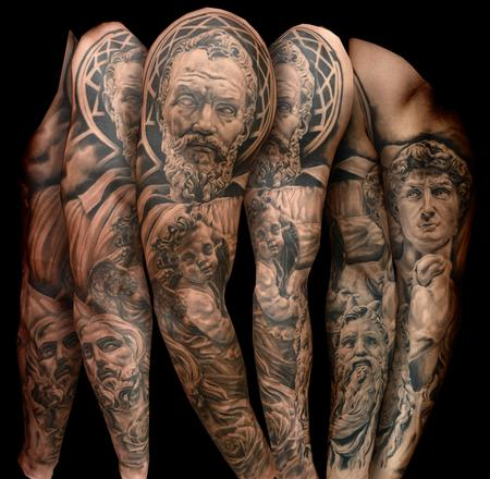 Tattoos - Sculpture Sleeve - 106847