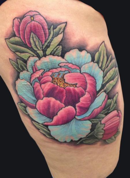 Tattoos - Flowers - 97930