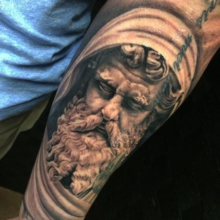 Tattoos - At. Paul sculpture  - 99058