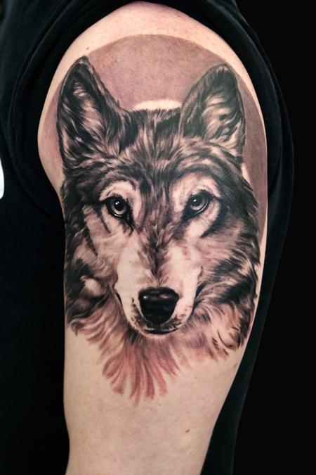 Tattoos - Wolf - 101414