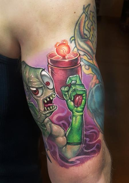 Tattoos - evil earthworm jim - 130412