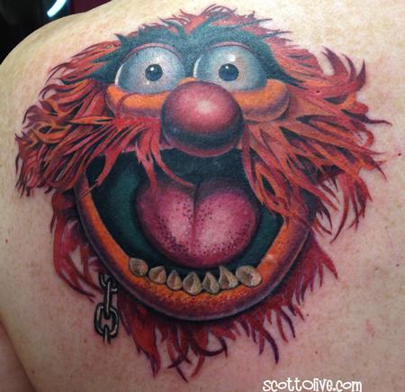 Tattoos - Animal coverup - 91687