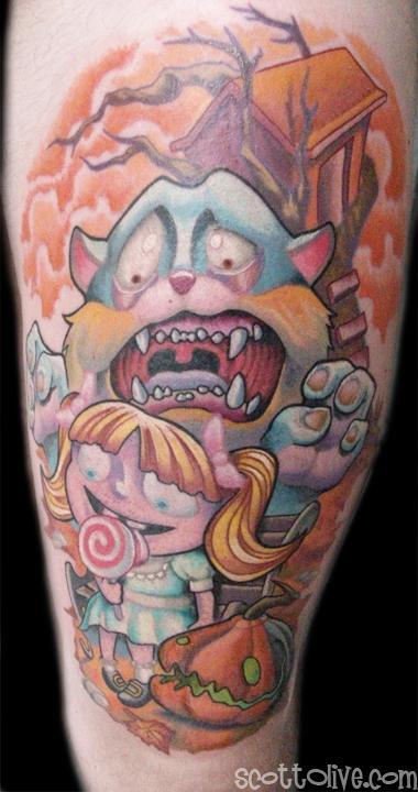 Tattoos - Who Stole My Lollipop - 54729