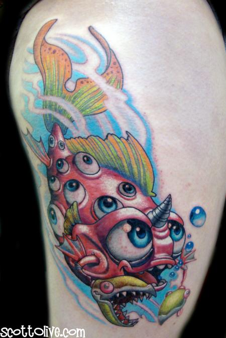 Tattoos - Sweedish Fish - 73078