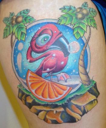 Tattoos - Florida Snowglobe - 42460