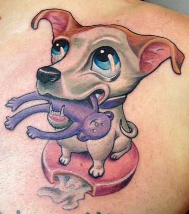 Tattoos - Moon Pai the dog - 53302