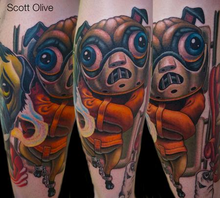 Tattoos - Hannibal Lecter Pug - 101629