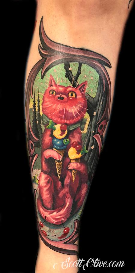Tattoos - Brandi cat - 138398