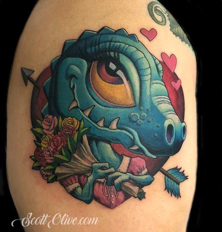 Tattoos - Valentine Dino - 138400