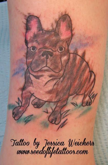 Tattoos - French Bulldog - 89805
