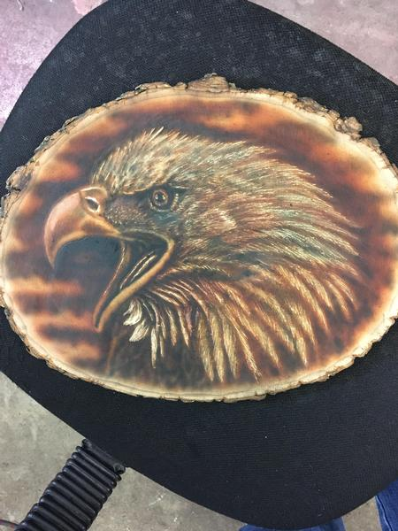 Brent Severson - Bald Eagle Airbrush Art