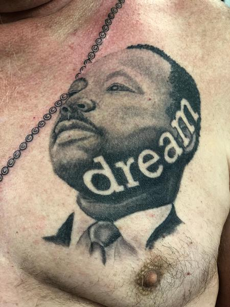 Brent Severson - MLK Portrait