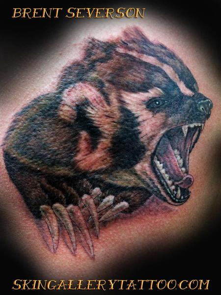 Tattoos - Wisconsin Badger - 104853