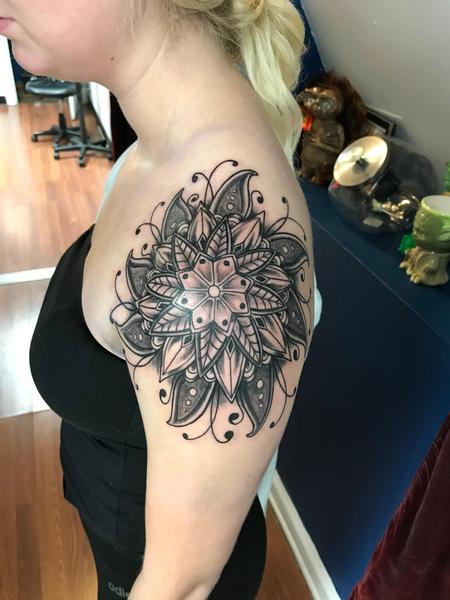 Tattoos - Black work tattoos - 140864